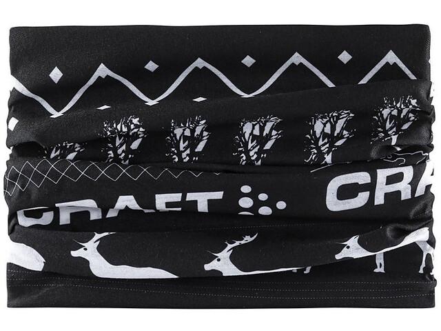 Craft Neck Tube - Foulard - gris noir sur CAMPZ ! a506da053c6